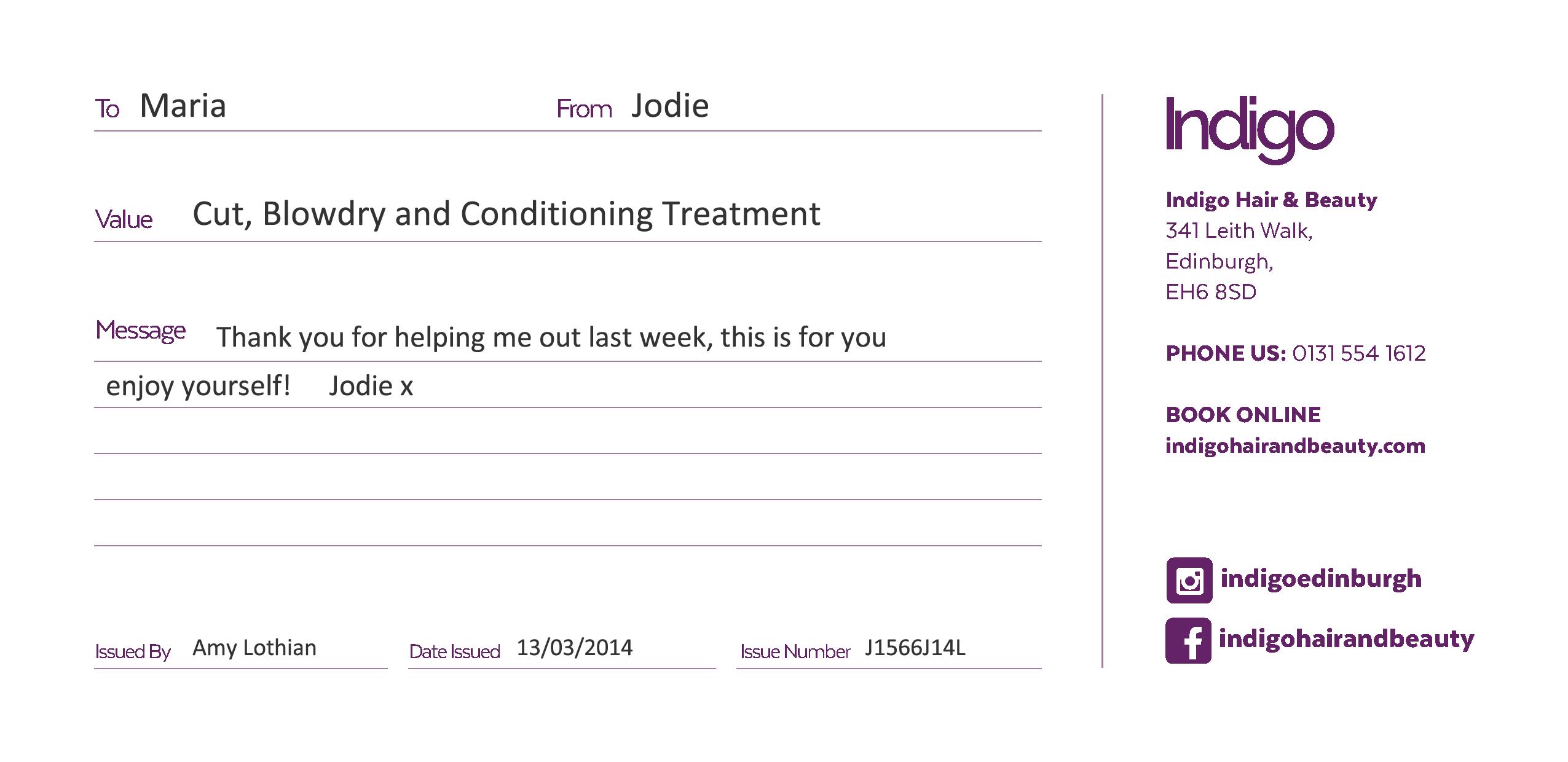 Treatment Voucher
